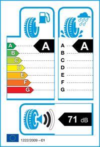 Etichetta per gomma: CONTINENTAL, EcoContact 6 VOL 235/55 R18 100V Estive