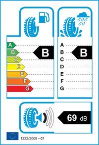 Etichetta per gomma: MICHELIN, XL CROSSCLIMATE + 195/55 R16 91H Quattro-stagioni
