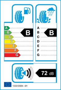 Etichetta per gomma: CONTINENTAL, ALL SEASON CONTACT XL 205/55 R17 95V Quattro-stagioni