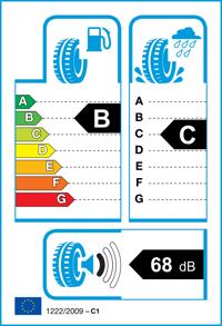 Etichetta per gomma: GOODYEAR, EFFIGRIP PERF 195/65 R15 91H Estive