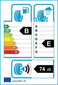 Etichetta per gomma: KUMHO, SOLUS KL21 265/60 R18 110H Estive