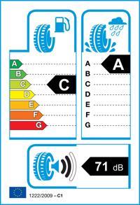 Etichetta per gomma: HANKOOK, K125 225/55 R16 95W Estive