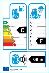 Etichetta per gomma: KLEBER, VIAXER 155/80 R13 79T Estive