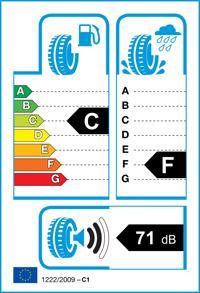 Etichetta per gomma: ACHILLES, WINTER 101 C 215/70 R15 109T Invernali