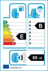 Etichetta per gomma: MICHELIN, CROSSCLIMATE+ ZP XL 225/50 R17 98W Quattro-stagioni