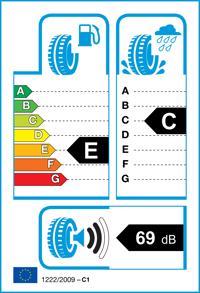 Etichetta per gomma: HANKOOK, RADIAL RA08 165/70 R13 88R Estive