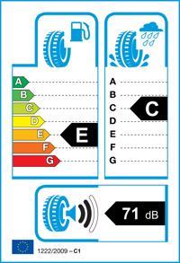 Etichetta per gomma: FIRESTONE, Multiseason 2 155/70 R13 75T Quattro-stagioni