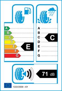 Etichetta per gomma: BRIDGESTONE, BLIZZAK LM-80 EVO 215/65 R16 98T Invernali