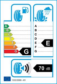 Etichetta per gomma: BRIDGESTONE, BLIZZAK LM-18 175/80 R14 88T Invernali