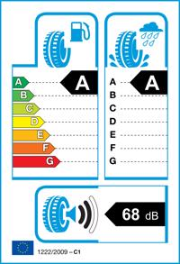 Etichetta per gomma: MICHELIN, PRIMACY 4 S1 215/65 R17 103V Estive