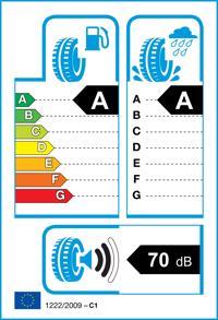 Etichetta per gomma: CONTINENTAL, ECO6 185/60 R14 82H Estive