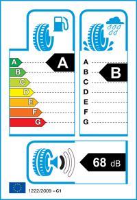Étiquette de pneu: MICHELIN, E-PRIM 205/60 R16 92V Ete