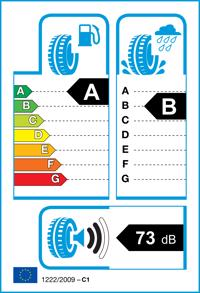 Etichetta per gomma: GOODYEAR, EAGLE F1 ASYMMETRIC SUV AT 255/50 R20 109W Estive