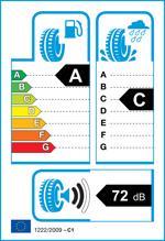 Etichetta per gomma: MICHELIN, PIL.SPORT 4 SUV 255/55 R20 110Y Estive