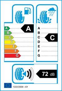 Etichetta per gomma: RADAR, DIMAX R8 225/45 R17 94Y Estive