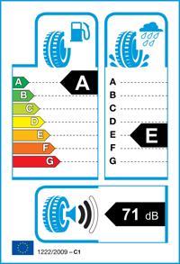 Etichetta per gomma: RADAR, RPX800 195/60 R14 86H Estive
