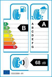 Etichetta per gomma: DUNLOP, BLURESPONSE 195/65 R15 91V Estive
