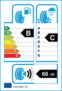 Etichetta per gomma: HANKOOK, H740 195/60 R16 89H Quattro-stagioni