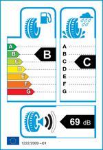 Etichetta per gomma: MICHELIN, LATITUDE TOUR HP J LR XL 235/60 R18 107V Estive
