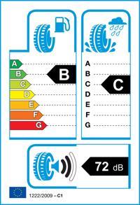 Etichetta per gomma: RADAR, DIMAX R8 215/50 R17 95Y Estive