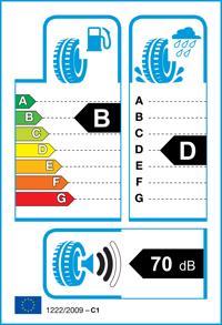 Etichetta per gomma: GOODYEAR, EFFICI.GRIP CARGO 225/75 R16 121R Estive