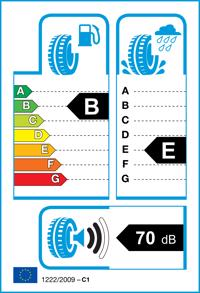 Etichetta per gomma: RADAR, RPX800 185/55 R14 80H Estive
