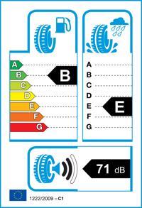 Etichetta per gomma: TTYRE, THREE 185/55 R15 82V Estive
