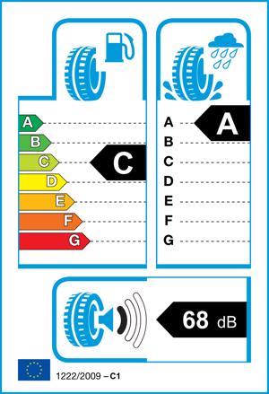 Etichetta per gomma: GOODYEAR, EFF.GRI.PERF 195/55 R15 85V Estive