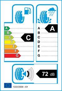 Étiquette de pneu: BRIDGESTONE, DURAVIS ALL SEASON 215/65 R16 109T Quatre-saisons
