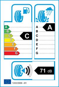 Etichetta per gomma: CEAT, SECURADRIVE 235/55 R17 99V Estive