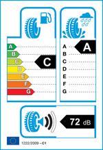 Etichetta per gomma: HANKOOK, K125 195/45 R16 84V Estive