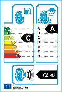 Etichetta per gomma: HANKOOK, K125 Prime XL 245/45 R18 100W Estive
