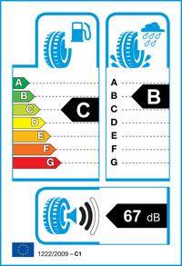 Etichetta per gomma: GOODYEAR, VECT. 4SEAS GEN-2 M+S 3PMSF XL 165/70 R14 85T Quattro-stagioni