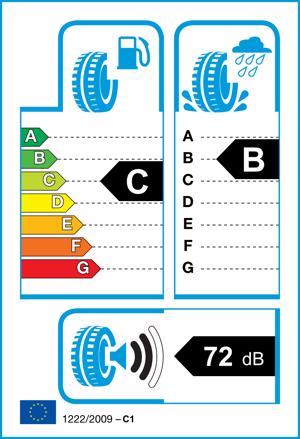 Etichetta per gomma: CONTINENTAL, TS-860 205/55 R16 94V Invernali