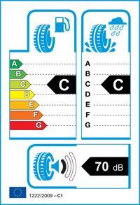 Etichetta per gomma: GOODYEAR, UG8 195/60 R16 99T Invernali