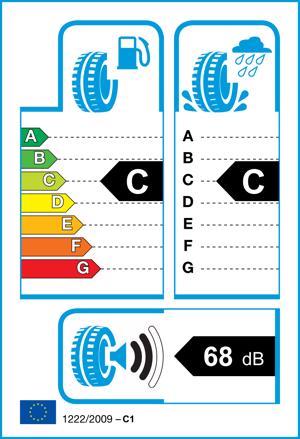 Etichetta per gomma: GOODYEAR, EFFICIENTGRIP 205/55 R16 91V Estive