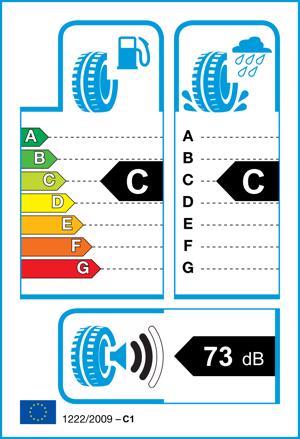Etichetta per gomma: CONTINENTAL, TS-850P 265/60 R18 114H Invernali