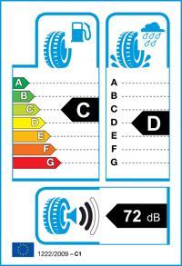 Etichetta per gomma: GOODYEAR, WRANGLER HP(ALL WEATHER) 275/60 R18 113H Estive
