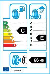 Etichetta per gomma: GOODYEAR, VECTOR 4 SEAS.2 155/70 R13 75T Quattro-stagioni