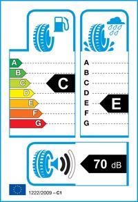 Etichetta per gomma: TRIANGLE, TE301 165/70 R14 85T Estive