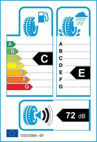 Etichetta per gomma: BRIDGESTONE, DUELER HT 684 2 265/60 R18 110H Estive