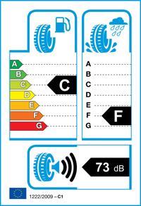 Etichetta per gomma: BRIDGESTONE, DUEL.H/T 684 II 265/60 R18 110H Estive