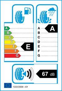 Etichetta per gomma: FALKEN, ZIEX ZE310EC 185/55 R14 80H Estive