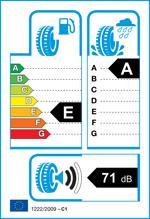 Etichetta per gomma: HANKOOK, K125 Ventus Prime3 195/50 R15 82V Estive