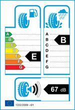 Etichetta per gomma: HANKOOK, VENTUS S1 EVO2 SUV K117A 245/45 R19 98W Estive