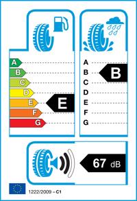 Etichetta per gomma: NEXEN, N BLUE HD PLUS 145/70 R13 71T Estive