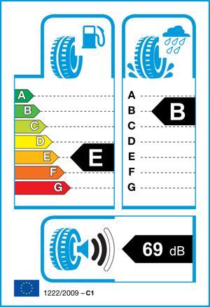 Etichetta per gomma: AVON, WV7 SNOW 225/60 R16 98H Invernali