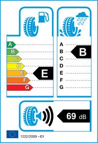 Etichetta per gomma: APOLLO, ALNAC 4 G 185/65 R14 86H Estive