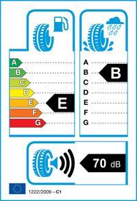 Etichetta per gomma: KUMHO, KH-27 185/55 R14 80H Estive