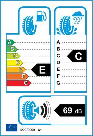 Etichetta per gomma: GOODYEAR, EFFICIENTGRIP 255/45 R18 99Y Estive